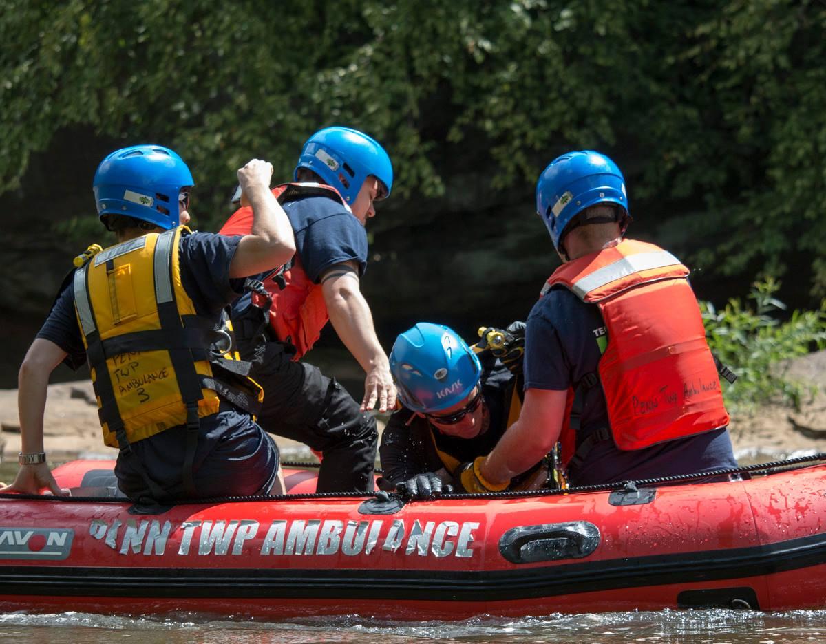 Penn Township Ambulance Boat